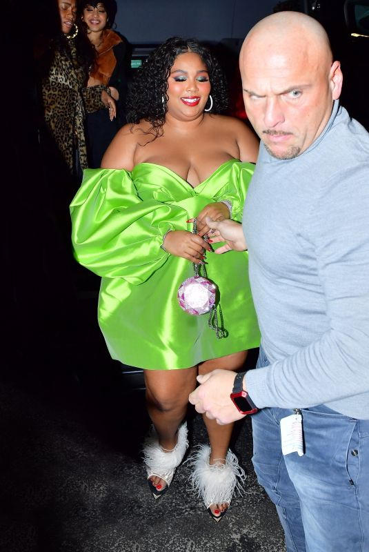 LIZZO at SNL Winter Finale After-party in New York 12/21/2019