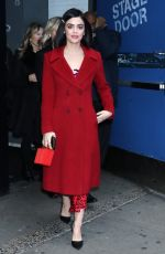 LUCY HALE at Good Morning America in New York 12/31/2019