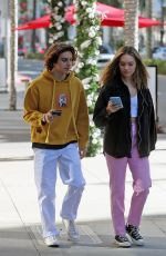 MADDIE ZIEGLER Out Shopping on Rodeo Drive in Los Angeles 12/02/2019