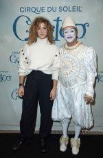 MANON AZEM at Cirque Du Soleil Corteo Show Opening in Paris 12/12/2019