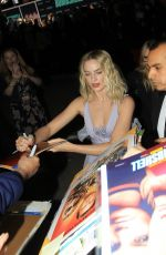MARGOT ROBBIE Arrives at Bombshell Screening in Westwood 12/10/2019