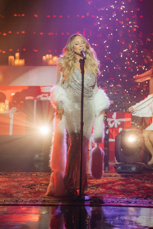 MARIAH CAREY at Late Late Show with James Corden 12/18/2019