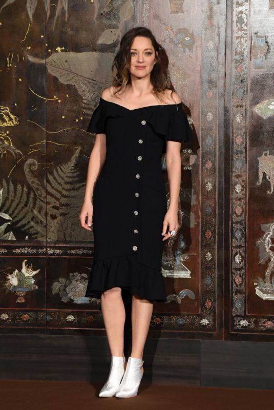 MARION COTILLARD at Chanel Metiers D'Art 2019/2020 Show in Paris 12/04/2019