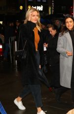MARTHA HUNT Arrives at Z100