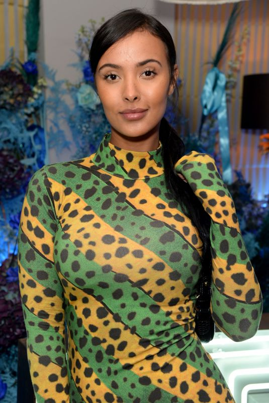 MAYA JAMA at Fenty Party at Laylow Club in London 12/02/2019