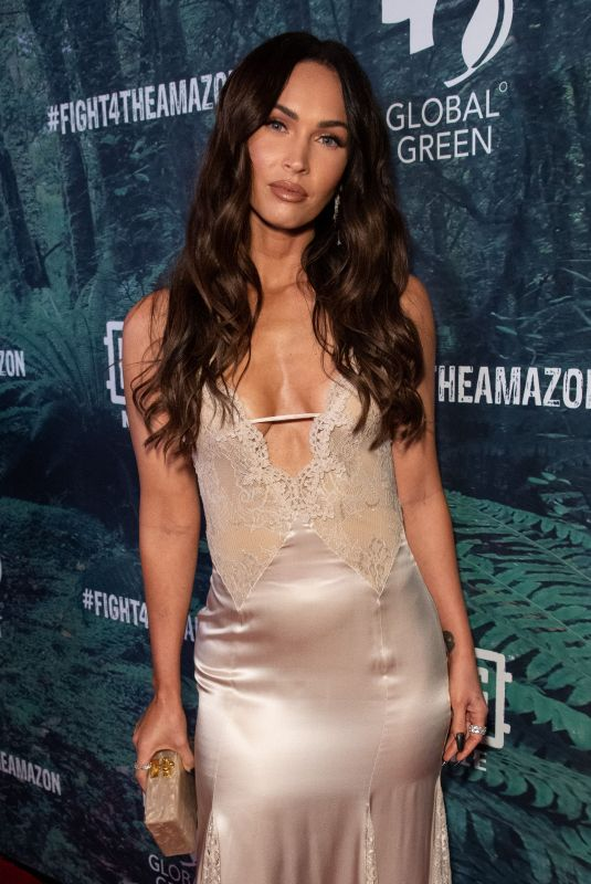 MEGAN FOX at PUBG Mobile's #fight4theamazon Event in Los Angeles 12/09/2019