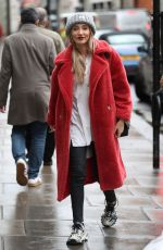 MEGAN MCKENNA Leaves Kiss FM Radio in London 12/06/2019