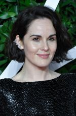 MICHELLE DOCKERY at Fashion Awards 2019 in London 12/02/2019