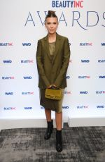 MILLIE BOOBY BROWN at WWD Beauty Inc Awards 2019 at Rainbow Room in New York 12/11/2019