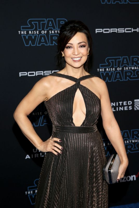 MING-NA WEN at Star Wars: The Rise of Skywalker Premiere in Los Angeles 12/16/2019