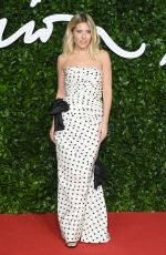 MOLLIE KING at Fashion Awards 2019 in London 12/02/2019