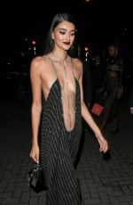 NEELAM GILL Arrives at Fashion Awards After-party in London 12/02/2019