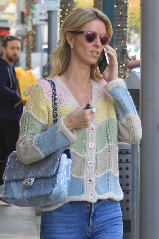 NICKY HILTON Out Shopping in Beverly Hills 12/22/2019