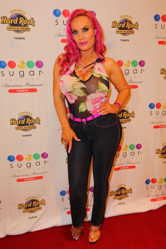 NICOLE COCO AUSTIN at New Sugar Factory American Brasserie at Seminole Hard Rock Hotel & Casino in Tampa 12/29/2019