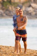 NICOLE KIDMAN and Keith Urban at a Beach in Sydney 12/27/2019