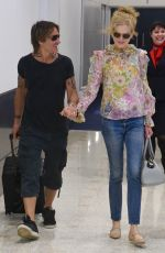 NICOLE KIDMAN and Keith Urban at Airport in Sydney 12/22/2019