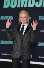NICOLE KIDMAN at Bombshell Special Screening in Westwood 12/10/2019