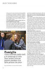 NICOLE KIDMAN in Grazia Magazine, Italy December 2019