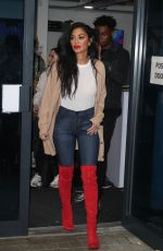 NICOLE SCHERZINGER Arrives at Her Hotel in London 11/30/2019