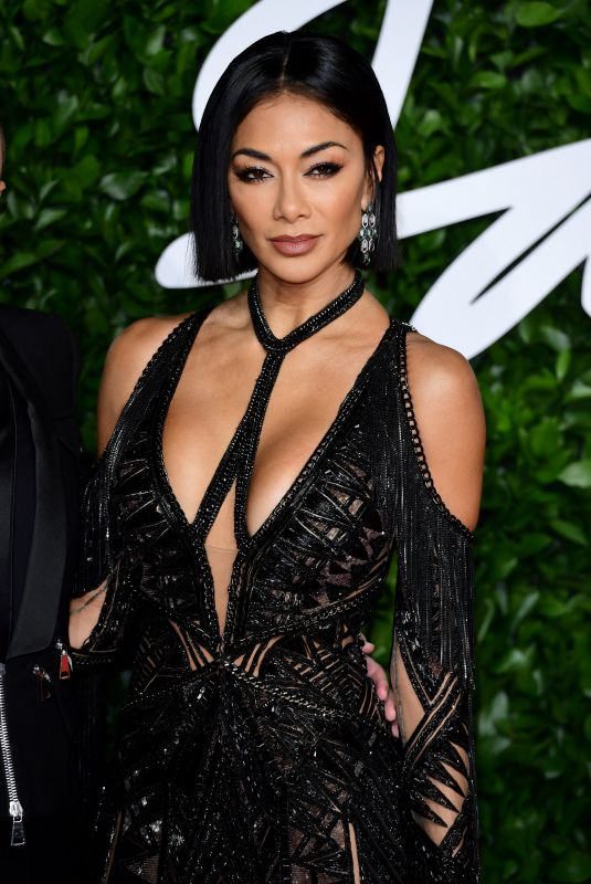 NICOLE SCHERZINGER at Fashion Awards 2019 in London 12/02/2019