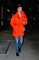 NINA AGDAL Night Out in New York 12/20/2019