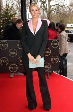 OLIVIA ATTWOOD Arrives at Tric Christmas Charity Lunch in London 12/10/2019