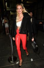 OLIVIA ATTWOOD Night Out in Manchester 11/30/2019