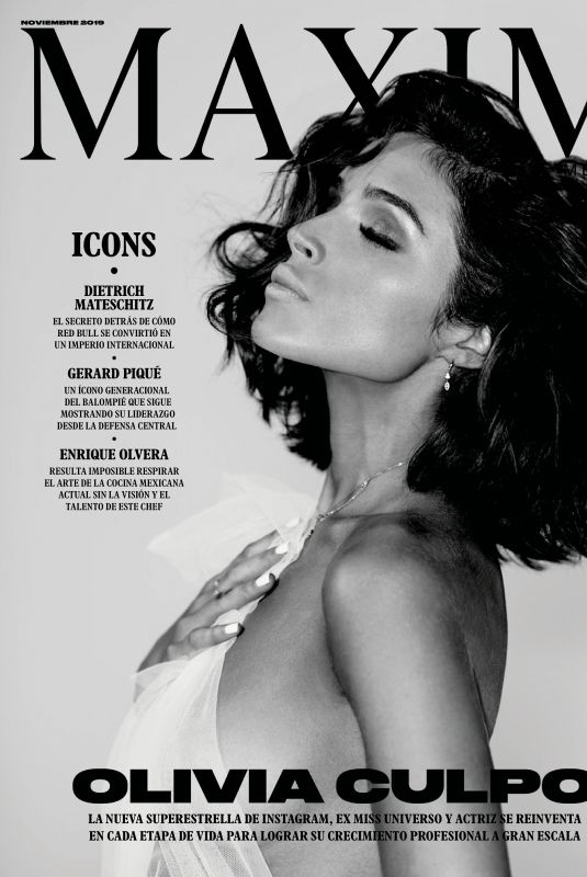 OLIVIA CULPO in Maxim Magazine, Mexico November 2019