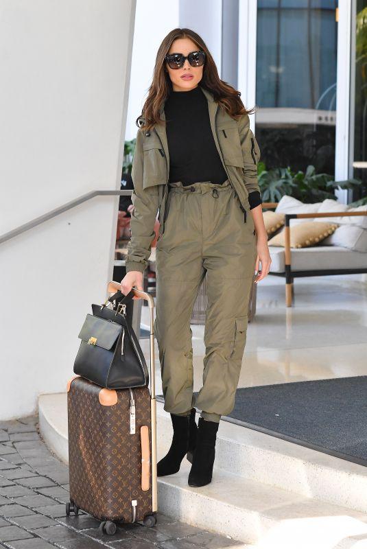 OLIVIA CULPO Leaves Her Hotel in Miami 12/06/2019