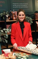 OLIVIA PALERMO at Frederick Wildman Wines Wrappy Hour Event in New York 12/14/2019