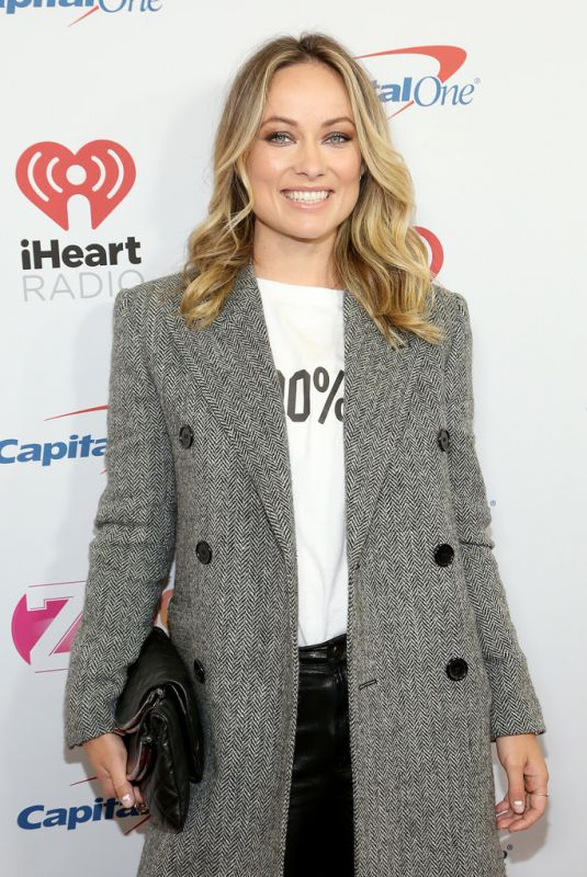 OLIVIA WILDE at Z100's Iheartradio Jingle Ball 2019 in New York 12/13/2019
