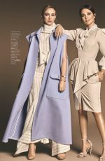 PAULA ECHEVARRIA and MARTA HAZAS in Hola Fashion Magazine, January 2020