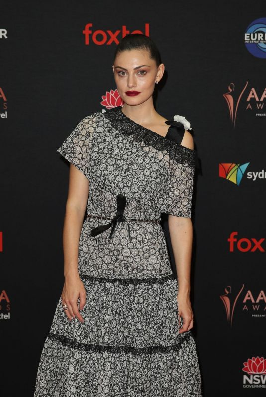 PHOEBE TONKIN at 2019 Aacta Awards in Sydney 12/04/2019