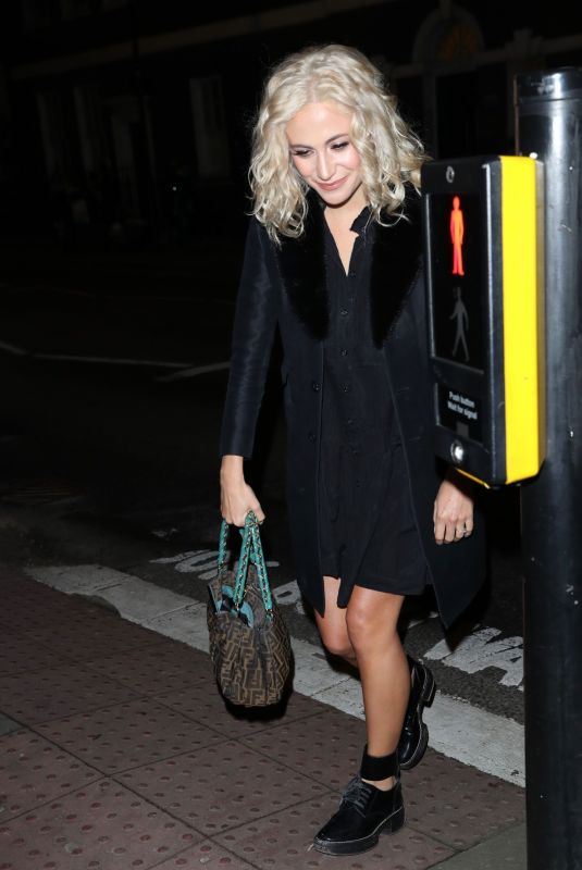 PIXIE LOTT Arrives at Tanqueray No Ten Gin Launch in London 12/05/2019