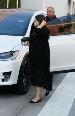 Pregnant JENNA DEWAN Out in Beverly Hills 12/13/2019