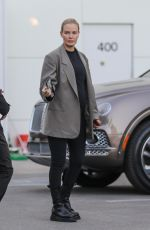 Pregnant LARA BINGLE Out in Beverly Hills 12/20/2019