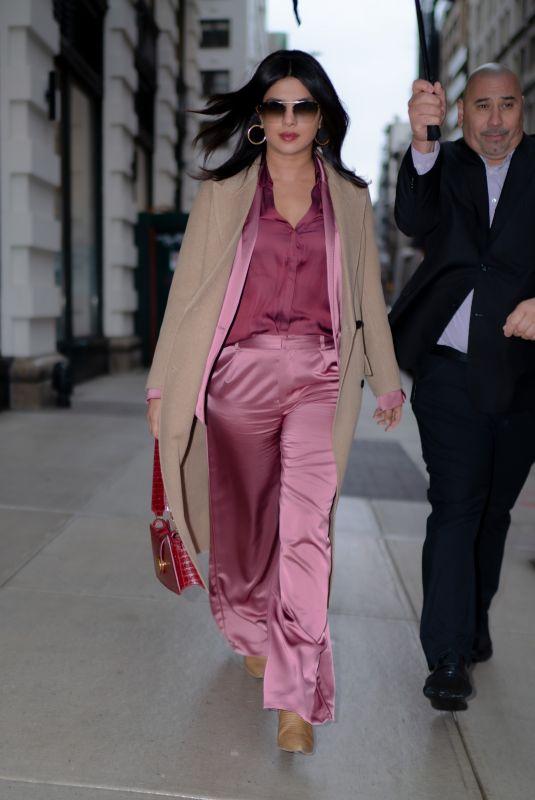 PRIYANKA CHOPRA Arrives at The Well in New York 12/18/2019