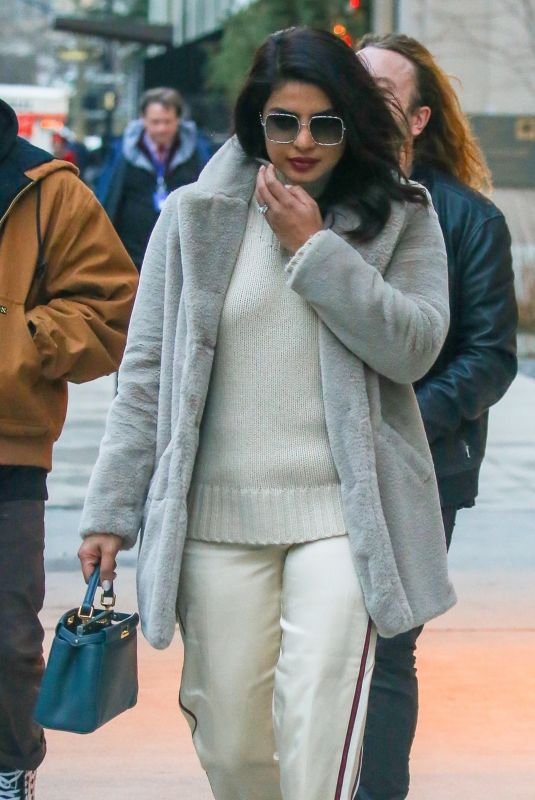 PRIYANKA CHOPRA Out and About in in New York 12/20/2019