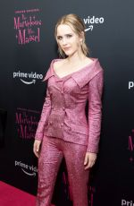 RACHEL BROSNAHAN at The Marvelous Mrs. Maisel, Season 3 Premiere at MOMA 12/06/2019