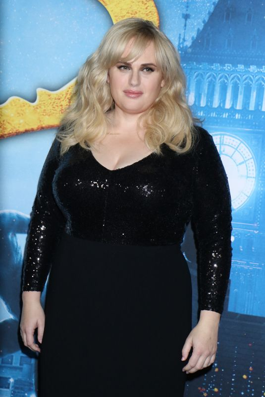 REBEL WILSON at Cats Premiere in New York 12/16/2019