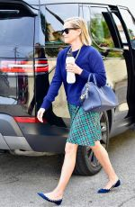 REESE WITHERSPOON Arrives at a Spa in Los Angeles 06/12/2019