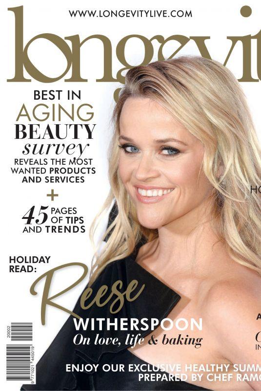 REESE WITHERSPOON ini Longevity Magazine, November/December 2019