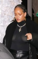 RIHANNA Arrives at Annabel