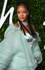 RIHANNA at Fashion Awards 2019 in London 12/02/2019