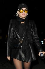 RITA ORA Night Out in London 12/03/2019