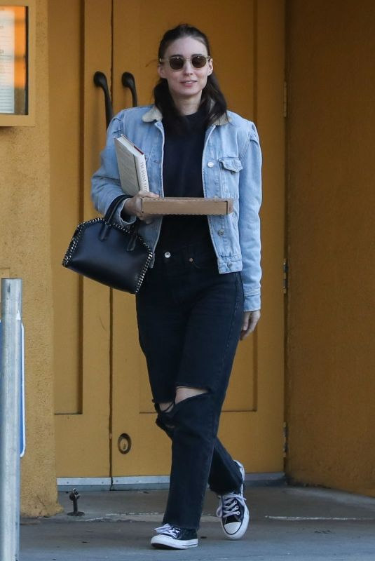 ROONEY MARA Out and About in Hollywood 12/27/2019