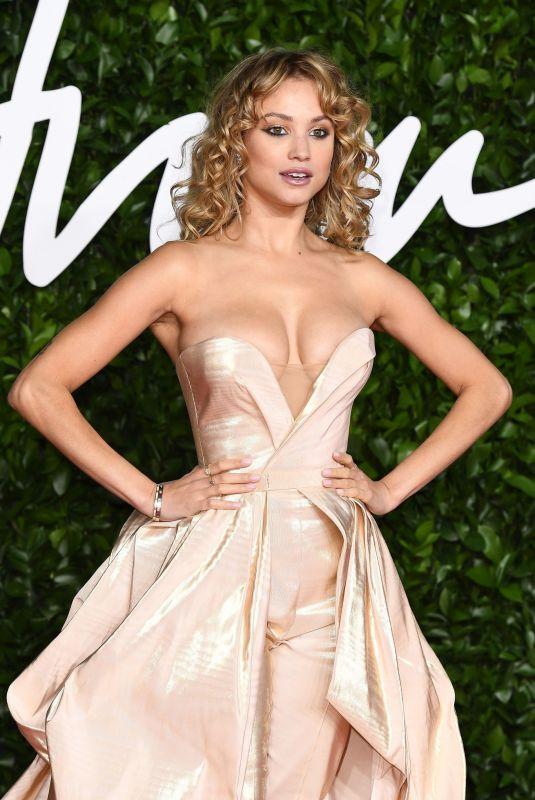 ROSE BERTRAM at Fashion Awards 2019 in London 12/02/2019