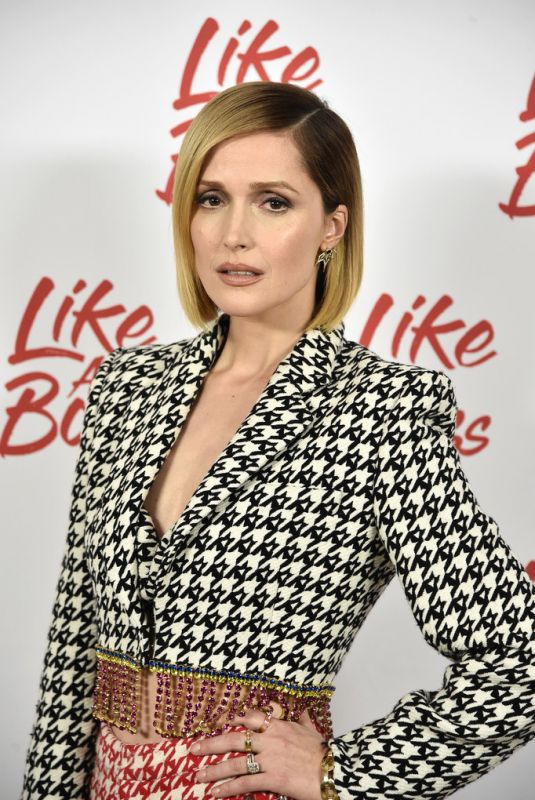 ROSE BYRNE at Like a Boss Photocall in New York 12/14/2019