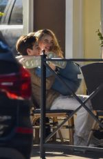 SABRINA CARPENTER and Griffin Gluck Out for Lunch at Sweet Butter in Studio City 12/19/2019