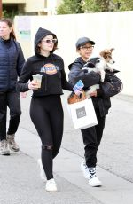 SABRINA CARPENTER and JOEY KING Out in Los Angeles 11/30/2019